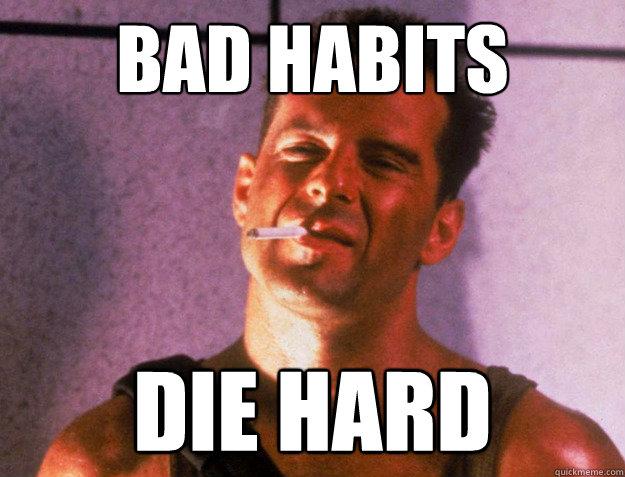 mauvaises habitudes vs bonnes habitudes