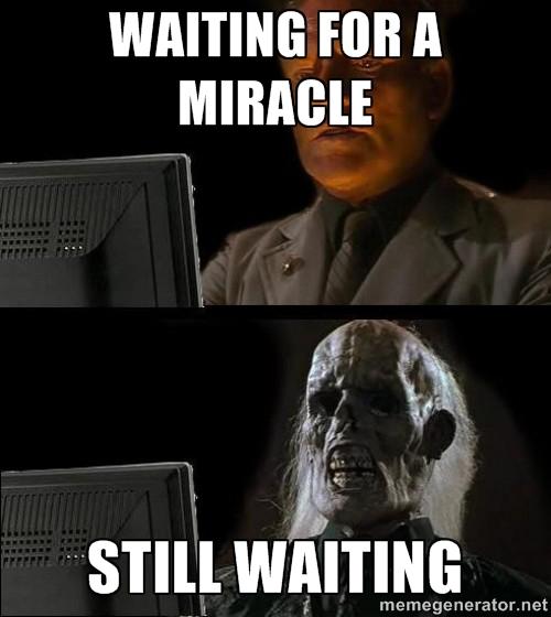 pas de miracle